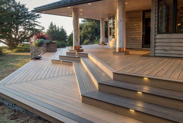 revestimiento exterior sintético de madera